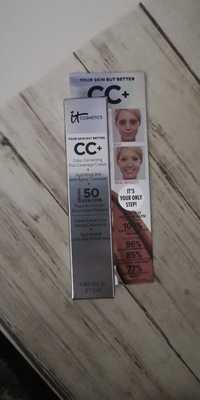 IT COSMETICS - CC+ - Crème correctrice + hydratant et anti-âge SPF 50