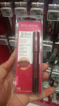 Bourjois - Velvet the pencil - Rouge à lèvres 2-en-1