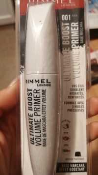 Rimmel - Ultimate boost - Volume primer base mascara