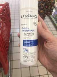 LA SOURCE EAU THERMALE ROCHEFORT - Toilette thermale - Lait micellaire démaquillant