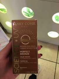 MARY COHR - Science UV perfect bronze - Gelée teintée autobronzant visage