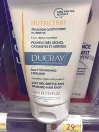 DUCRAY - Nutricerat - Emulsion quotidienne nutritive