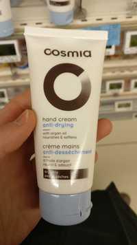 Cosmia - Crème mains anti-dessèchement
