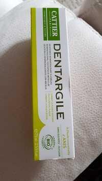 Cattier - Dentargile - dentifrice à l'huile essentielle d'anis bio