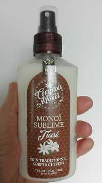 Comptoir des Monoï  - Monoï sublime Tiaré - Soin traditionnel corps & cheveux