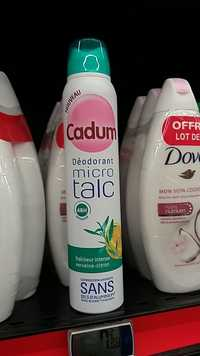 CADUM - Déodorant micro talc