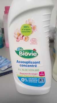 Composition Biovie Assouplissant Concentre A L Aloe Vera Bio Ufc