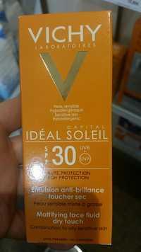 VICHY - Idéal soleil - Emulsion anti-brillance toucher sec SPF 30