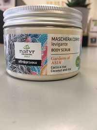 NATYR BIO - Coconut and rice - Maschera corpo levigante