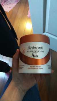 EVOLUDERM - Masque cheveux soyeux - Miel