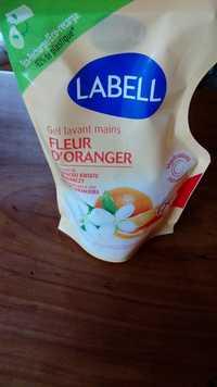 LABELL - Fleur d'Oranger - Gel lavant mains