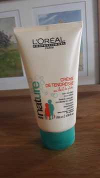 L'Oréal - Série nature - Crème de tendresse au lait de pêche
