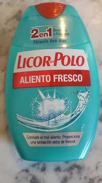 LICOR DEL POLO - Aliento fresco - 2 en 1 dentifrico + enjuague