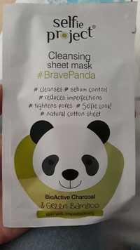 SELFIE PROJECT - BravePanda - Cleansing sheet mask