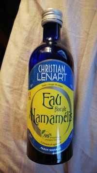 Christian Lénart - Eau florale d'hamamélis - Soin visage et corps