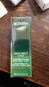 Biotherm - Skin best eyes - Soin intégral anti-fatigue