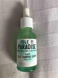ISLE OF PARADISE - Medium self tanning drops face & body