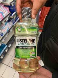 Listerine - Anti-caries - Bain de bouche quotidien