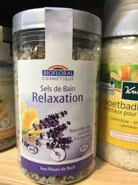 BIOFLORAL - Aux fleurs de bach - Sels de bain relaxation