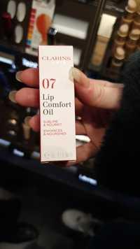 Clarins - Lip comfort oil - 07