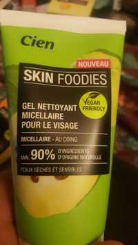 CIEN - Skin foodies - Gel nettoyant micellaire pour le visage