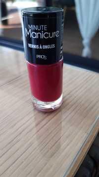 Pro's - Minute manicure - Vernis à ongles 13 aubergine royale
