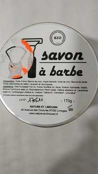 Nature et Limousin - Savon à barbe
