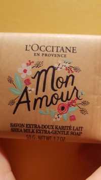 L'OCCITANE - Mon amour - Savon extra-doux karité lait
