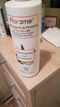 FLORAME - Lait corporel de Provence à l'aloe vera bio