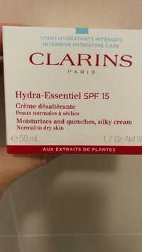 CLARINS - Hydra-essentiel spf 15 crème désaltérante
