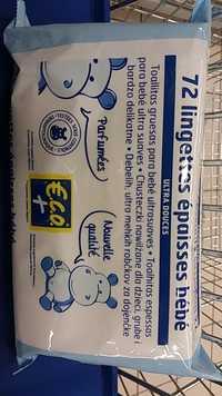 Eco+ - 72 lingettes épaisses bébé