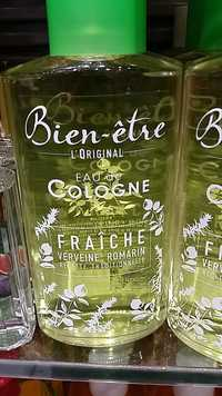 Bien-être - L'Original - Eau de cologne Fraîche