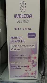 Weleda - Bébé Derma - Crème protectrice visage à la mauve blanche