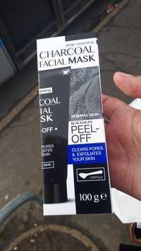 MAXBRANDS - Charcoal facial mask - Blackhead peel-of