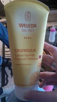 Weleda - Calendula - Crème lavante corps et cheveux