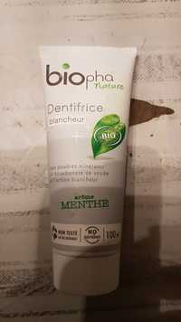 BIOPHA - Biopha nature - Dentifrice blancheur