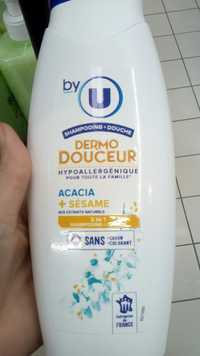BY U - Dermo douceur - Shampooing douche
