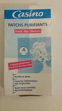 CASINO - Patchs purifiants