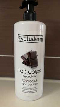 EVOLUDERM - Chocolat - Lait corps hydratant