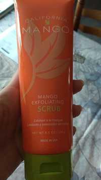 CALIFORNIA - Mango - Exfoliating scrub