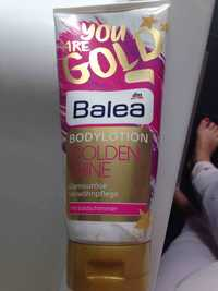 Balea - Golden shine - Body lotion