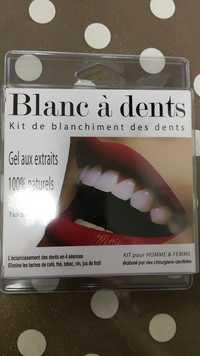 Gifi - Blanc à dents - Gel aux extraits