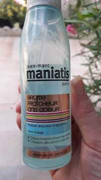 JEAN-MARC MANIATIS - Brume fraîcheur anti-odeur - Parfum de cheveux