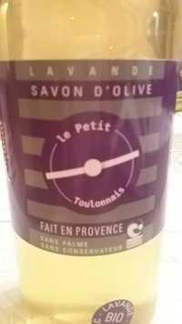 Le petit Toulonnais - Savon d'olive lavande