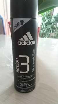 ADIDAS - Action 3 pro invisible - Anti-perspirant, anti-transpirant 24h