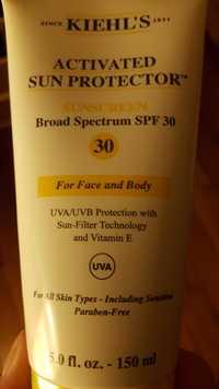 Kiehl's - Activated sun protector - Sunscreen spf 30