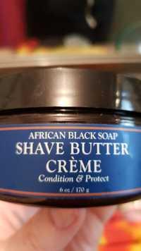 SHEA MOISTURE - African black soap - Shave butter crème