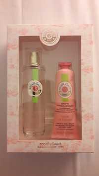 ROGER & GALLET - Coffret eau parfumée beinfaisante + Baume mains fleur de figuier