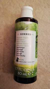 KORRES - Basilic citron - Gel douche