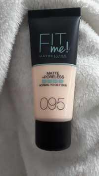 Maybelline - Fit me ! -  Matte + poreless 095